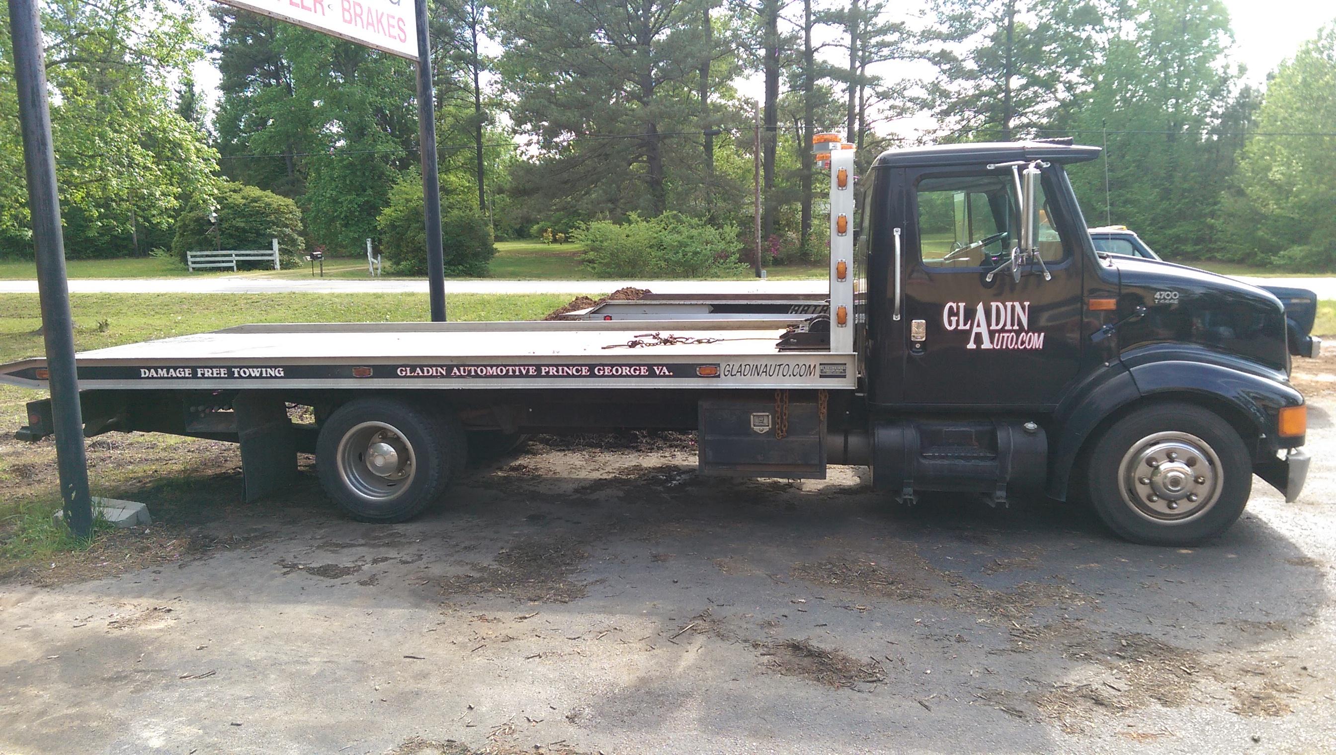 Gladin Automotive Petersburg Va Flatbed Truck