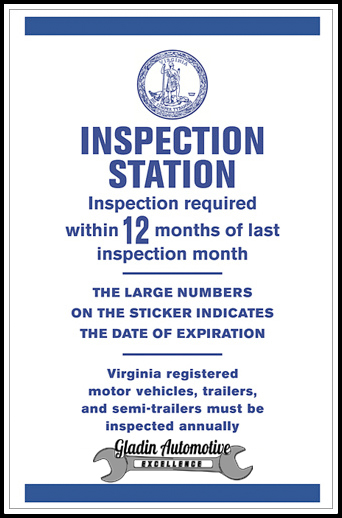 Petersburg VA State Inspection